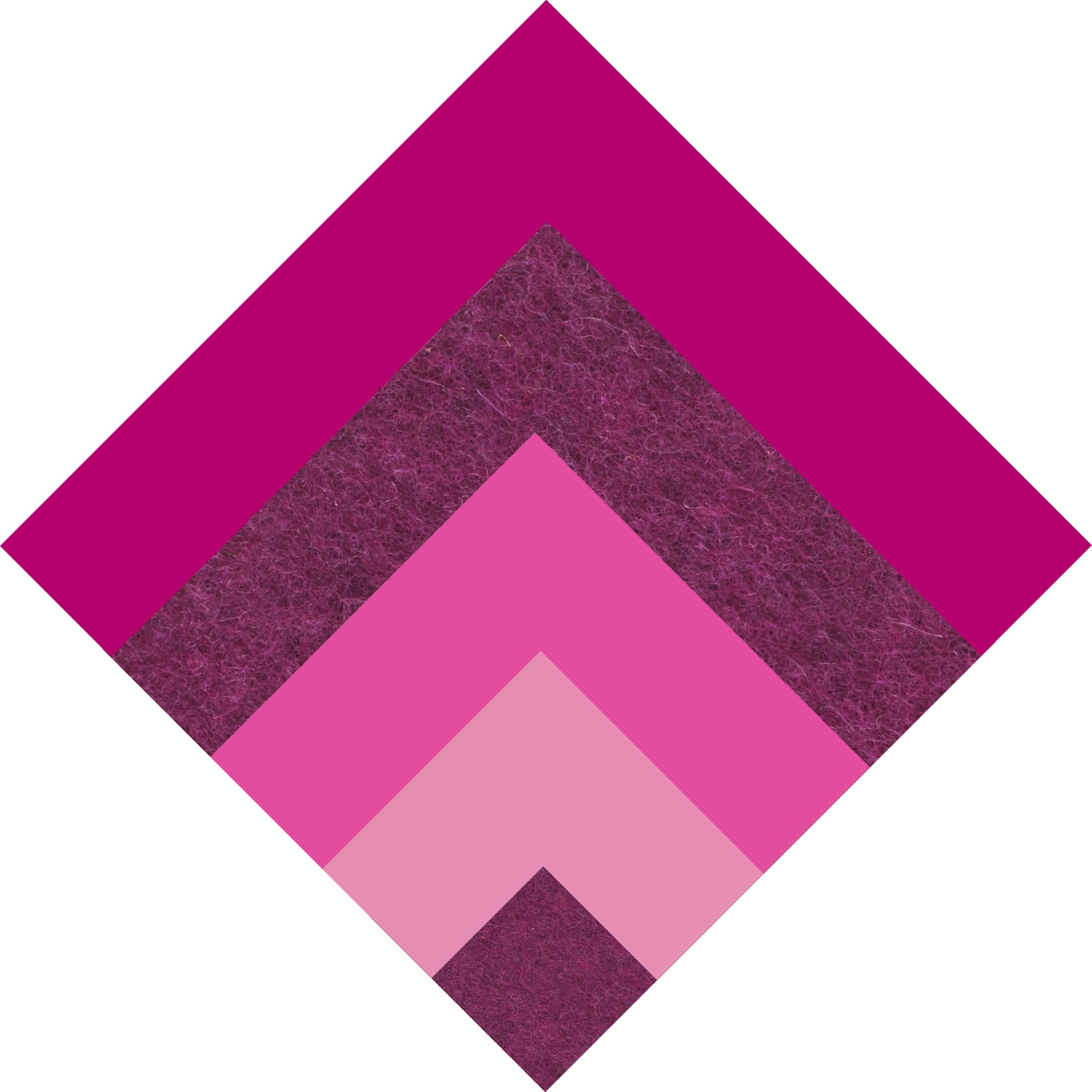 dinner serviette berry malve pink rose daff filz und. Black Bedroom Furniture Sets. Home Design Ideas