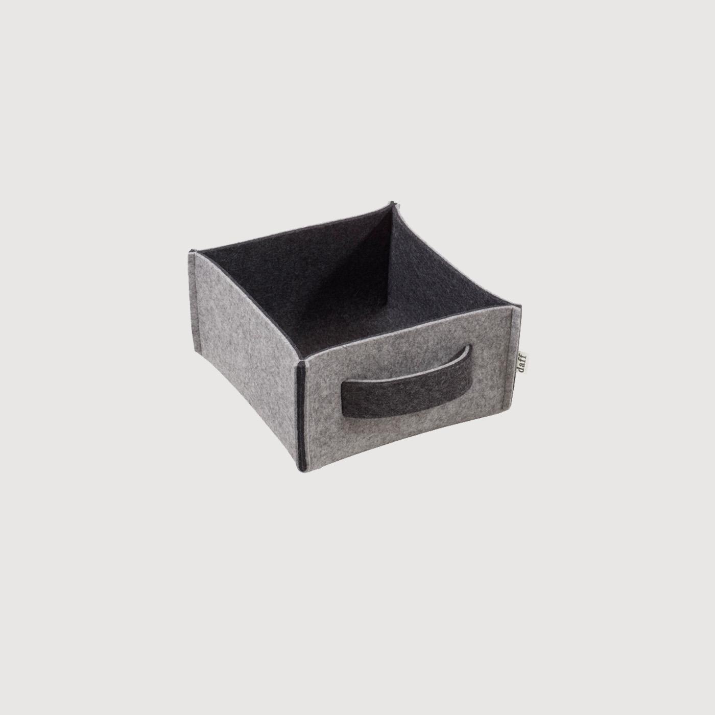 filzbox mini plus 19 x 19 x 10 daff filz und mehr. Black Bedroom Furniture Sets. Home Design Ideas