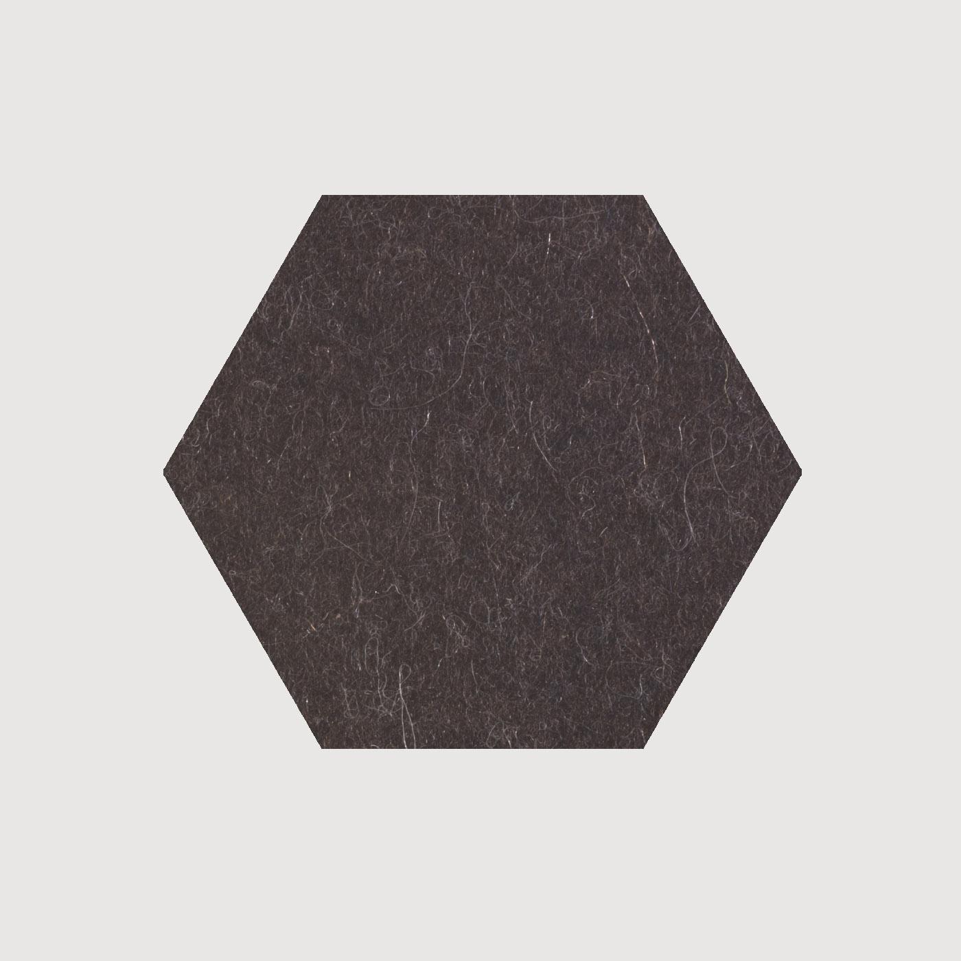 untersetzer 6 eck 23cm daff filz und mehr tisch. Black Bedroom Furniture Sets. Home Design Ideas